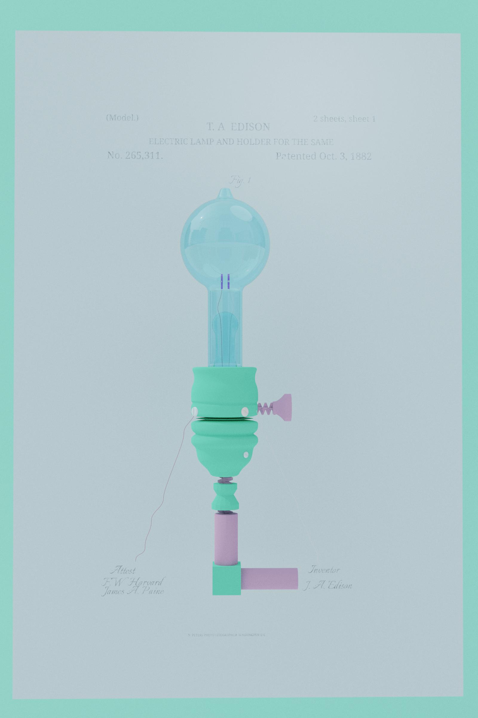 Lightbulb 3D Animation